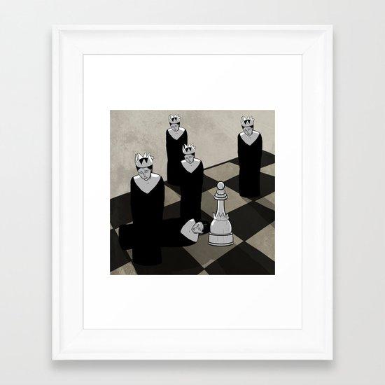 Chessboard Framed Art Print