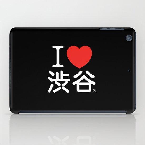 I ♥ Shibuya iPad Case