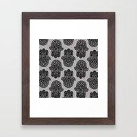 HAMSA PRINT Framed Art Print