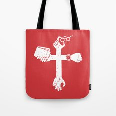 Sign of the Cross Tote Bag