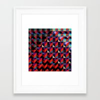 Unreleased Pattern #6 Framed Art Print