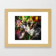 Dreaming...glitches Framed Art Print