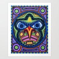The Totem Art Print