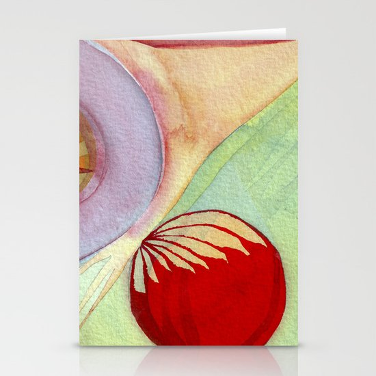 plume Stationery Card