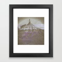 Feldspar Framed Art Print