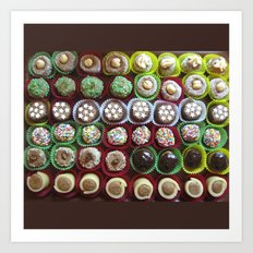 cookies Art Print
