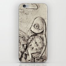 Something about Time iPhone & iPod Skin