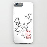 Wildlife Is Your Friend iPhone 6 Slim Case