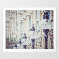 Lanterns Of Wisdom Art Print