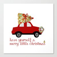 Have Yourself A Merry Li… Canvas Print