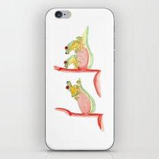 three little frogs iPhone & iPod Skin