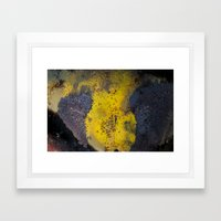 Abstract  metallic Framed Art Print