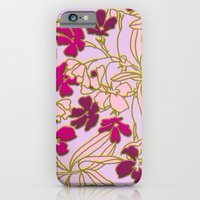 Jungle Dusk in Orchid iPhone 6 Slim Case