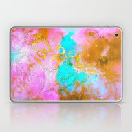 Curly Abstract Laptop & iPad Skin