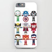 iPhone & iPod Case featuring 'UNCANNY AVENGERS' ROBOTICS by We are Robotic