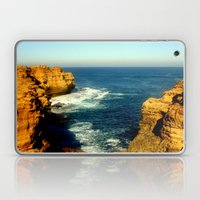 As the sunsets over the Limestone Cliffs Laptop & iPad Skin