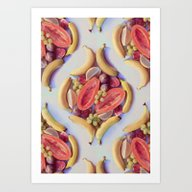 Fruit Salad - A Tropical… Art Print