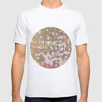 Summer Brings The Flower… Mens Fitted Tee Ash Grey SMALL
