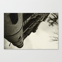 CASQUET WITH MY LOVER Canvas Print