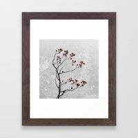 Abstract Flowers 6 Framed Art Print