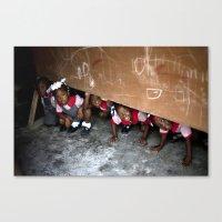 The Children Of Crista C… Canvas Print