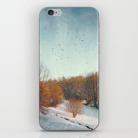 Trees in Winter II iPhone & iPod Skin
