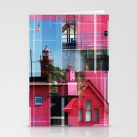 Lighthouse At Holland Pa… Stationery Cards