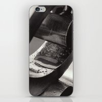 Droplets on Metal iPhone & iPod Skin