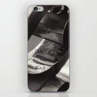 Droplets On Metal iPhone & iPod Skin