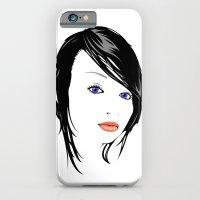 Minimal Girl 1 iPhone 6 Slim Case