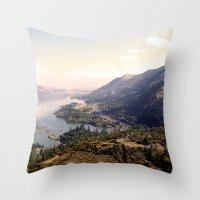 Distant Throw Pillow