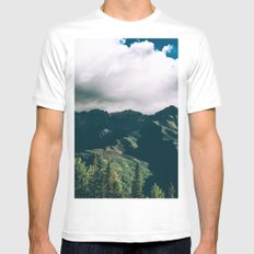 Telluride Colorado Mens Fitted Tee SMALL White