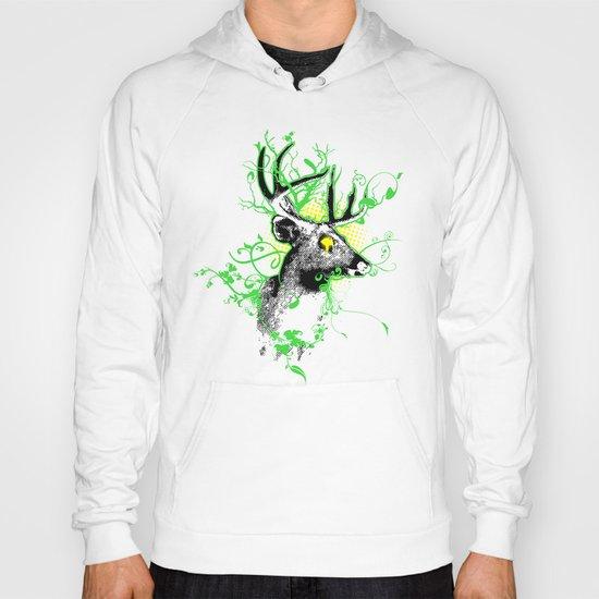 Trippy Ghost Deer Hoody
