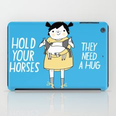 Hold Your Horses iPad Case