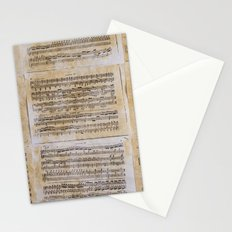 unplayed piano Stationery Cards