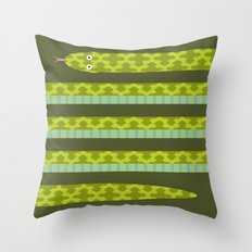 Anaconda! Throw Pillow