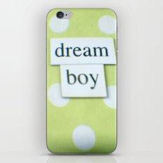 Dream boy iPhone & iPod Skin