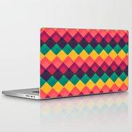Happy Day Pattern Laptop & iPad Skin