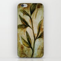 Old Vines Mixed Media iPhone & iPod Skin