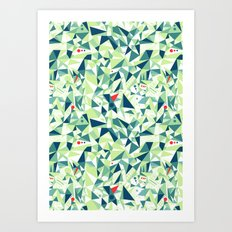 Moment Pattern Art Print