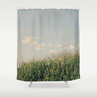 Campos De Maíz Shower Curtain