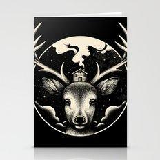 Deer Home Stationery Cards