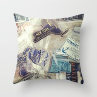 I've Been There Throw Pillow