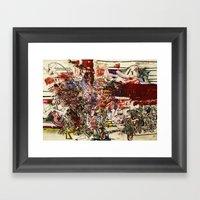 Boom For Real Framed Art Print