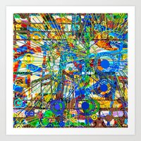 Joy (Goldberg Variations #14) Art Print