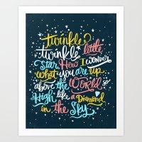 Twinkle Twinkle Twinkle … Art Print