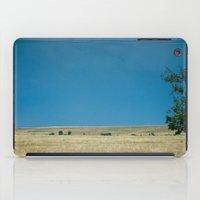 Field of Blue  iPad Case