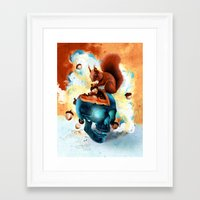Piece of Mind Framed Art Print