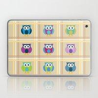 Plaid Owls Laptop & iPad Skin