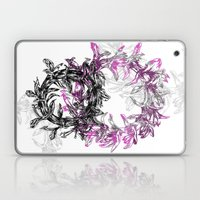Flowers Circle Laptop & iPad Skin